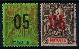 Mayotte (Francés) Nº 24/25 Nuevo*/º - Neufs