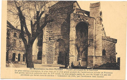 SAINT MAXIMIN LA SAINTE BAUME : LA BASILIQUE - Saint-Maximin-la-Sainte-Baume