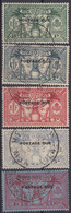 NOUVELLES NEW HEBRIDES : SERIE TAXE POSTAGE DUE N° 6/10 OBLITERATIONS CHOISIES - Unclassified