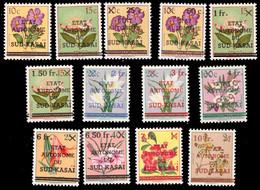 Sud Kasai 0001/13 Fleurs *  H - South-Kasaï