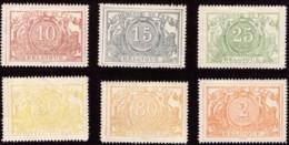 Belgium TR 0007...14** MNH Impression Sur Papier Blanc - Mint