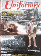 Magazine La Gazette Des Uniformes - N° 196 (Decembre 2001) - Festung La Rochelle (1944-1945) - French