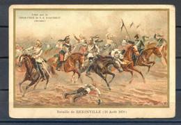 CHROMOS, REF VPB1-090221, LOT DE 6 CHROMOS CHOCOLAT NOTRE DAME D'AIGUEBELLE, Illustrateur GERMAIN - Aiguebelle