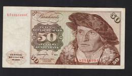 DEUTSCHLAND - DEUTSCHE BUNDESBANK - 50 MARK (1980 - Frankfurt Am Main) - 50 Deutsche Mark