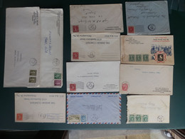 PASTIEKEN BAK 5/LOT74BIS:    11 LETTRES  CANADA - Cartas