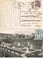 JEUX OLYMPIQUES 1920 -  2 CACHETS - - Flammes