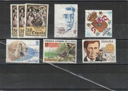 Espagne Oblitéré  Lot De Timbres Oblitérés De 1983 - 1981-90 Used