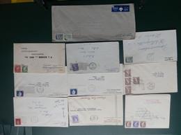 PASTIEKEN BAK 5/LOT95: 8 LETTRE CANADA EL. II - Briefe U. Dokumente