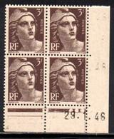 Coin Daté Gandon N° 715 Du 29/1/1946 ** - 1940-1949