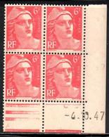 Coin Daté Gandon N° 721A Du 4/10/1947 ** - 1940-1949