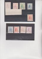 9  MARCHE DA BOLLO PER ATTI AMMINISTRATIVI  DENTELLATE E NON DENTELLATE VARI VALORI - Revenue Stamps