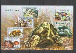ST1993 2015 NIGER FAUNA REPTILES TURTLES LES TORTUES 1SH MNH - Schildkröten