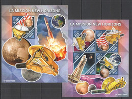 ST2104 2015  NIGER SPACE MISSION NEW HORIZONS KB+BL MNH - Other