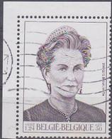 Belgien 2000. Königin Paola Von Belgien, Mi 2934, Marke Aus Block 75 Gebraucht - Usados