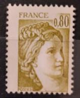 France 1978 N°1971c  2 Demi Bandes De Phospho ** TB - Ungebraucht