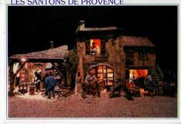 13 LES BAUX DE PROVENCE Les Santons De Provence Nativita Creche Realisee Par La Provence Au Bout Des Doigts - Les-Baux-de-Provence