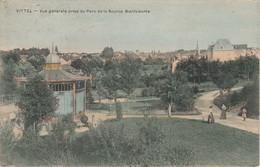 Vosges. Vittel. Vue Générale Prise Du Parc De La Source Bienfaisante. - Vittel Contrexeville