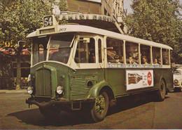 Autobus Renault TN4H RATP, à Paris (75)  - - Autobus & Pullman