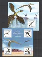 ST2730 2014 NIGER FAUNA PREHISTORIC ANIMALS FLYING DINOSAURS 1KB+1BL MNH - Prehistorics