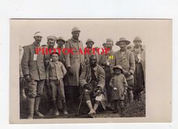 Prisonniers Francais-CARTE PHOTO Allemande-Guerre 14-18-1 WK-Militaria- - War 1914-18