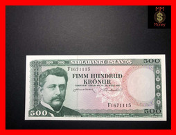 ICELAND 500 Kronur  L. 29.03.1961  P. 45     UNC  [MM-Money] - Iceland