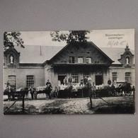 Kinrooi   Geistingen   Geijstingen Stoommelkerij  Afgestempeld 16-10-1915 Maeseyck - Kinrooi