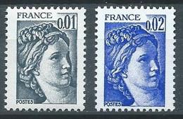 France YT N°1962-1963 Sabine Neuf ** - 1977-81 Sabine De Gandon