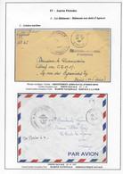 """Plis : Aviso Escorteur Commandant Bourdais, Brest Arsenal Finistère , Griffes Des Sous-marins """"Casabianca""""...  TB. - Maritime Post"""