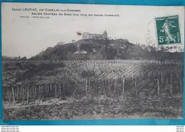 CPA - LOUPIAC , Par Cadillac-sur-Garonne - Ancien Château DU CROS (Vue Prise Des Grands Vignobles) - Other Municipalities