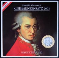 AUX2003.1 - COFFRET BU AUTRICHE - 2003 - 1 Cent à 2 Euros - Austria