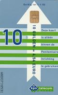 Netherlands - Prison Card - Justitie Blue (A8007) - Publiques