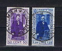 Italien, Italia 1934: Michel-Nr. 488-489 Gestempelt / Used - Usados