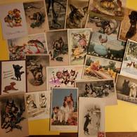 LOT DE 22 CARTES ANIMAUX - 5 - 99 Cartoline