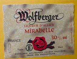 18128 - Liqueur D'Alsace Mirabelle Wolfberger Colmar - Other