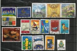 ANDORRA FR. Año Completo 2000. 16 Sellos Usados de 1ª Calidad (Romería Anual A Las Iglesias De Meritxell Y Canolic) - Used Stamps