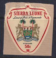 Sierra Leone: 1965   Arms    SG383     50c     Used - Sierra Leone (1961-...)