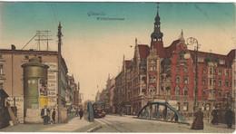 Poland Gliwice Gleiwitz Wilhemstrasse - Postcard (sent In 1910) - Polen
