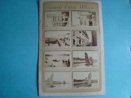 17 - LA ROCHELLE - Carton 11cm X 16cm De 16 Petites Photos (8 Au Recto, 8 Au Verso) De Bateaux Et Autres Lieux De LR - La Rochelle