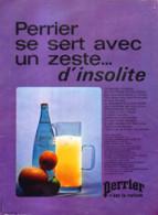 """PUB  """" PERRIER  """"    1972 ( 20 ) - Perrier"""