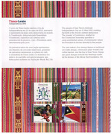 (HH 36) Timor Leste Independence 2002 Presentation Pack (with 4 Stamps Printed In Australia) - East Timor