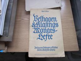 Velhangen Klafings Monats Hefte April 1944 Der Fuhrer Photo Heinrich Hoffmann - Libros Antiguos Y De Colección