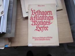Velhangen Klafings Monats Hefte Marz 1944 - Libros Antiguos Y De Colección