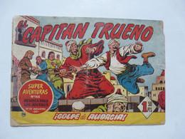 EL CAPITAN TRUENO - SUPER VENTURAS N°144 - Old Comic Books
