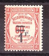Timbre-Taxe N° 53 - Neuf ** - 1859-1955 Neufs