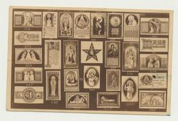 Carte De L'abbaye De MAREDRET - Spécimens Des Images Pieuses - Religion Christianisme Vierge Jésus... - Non Classés