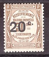 Timbre-Taxe N° 49 - Neuf ** - 1859-1955 Neufs