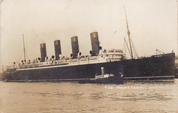 Boat Ship Paquebot Steamer S.S. Mauretania Anno 1910 !!! Cunard Line  Photograph Foto Photo Rare! Liverpool  Barry 8114 - Passagiersschepen