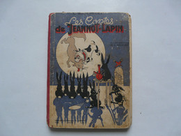LES CONTES DE JEANNOT LAPIN Par L. BOURLIAGUET  - Illustrations De G. JACQUEMENT 1943 - Altri