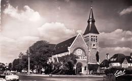 62 - Pas De Calais - LE TOUQUET - PARIS PLAGE - Eglise Jeanne D Arc - Citroen DS - Le Touquet