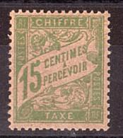 Timbre-Taxe N° 30a (papier GC) - Neuf ** - 1859-1955 Postfris
